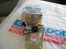 NOS MOPAR 1967 PLYMOUTH VIP INTERIOR READING LAMP SWITCH ASSY 2857434