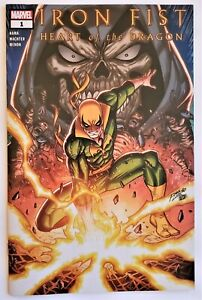 IRON FIST HEART OF THE DRAGON #1 Walmart Exclusive Variant Rom Lim Cover