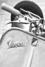 STUNNING CANVAS ITALIAN VESPA SCOOTER #802 MODS WALL HANGING A1 PICTURE WALL ART