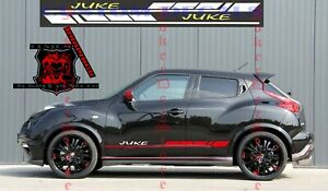 Nissan Juke Stripe Decal Graphic stickers Kit 2x