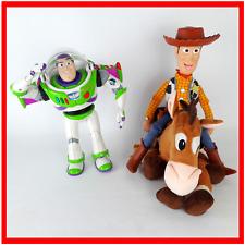 Toy Story BUNDLE LOTTO Buzz Lightyear Woody Bullseye Giocattolo Morbido Figura Disney Pixar