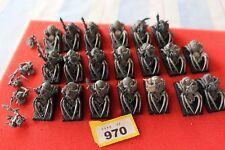 Juegos taller Warhammer orcos y goblins jinetes de Araña x20 Regimiento Ejército GW