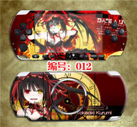 Date A Live Skin Stickers for PSP3000 Kurumi Nightmare Protector Decals PSP2000