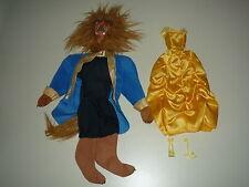 VINTAGE beauty and the beast outfits 1992 Mattel Belle et la bête Barbie Ken