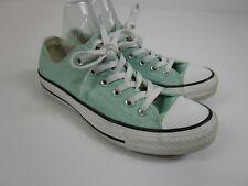 5fa2c56a4f7d Converse All Star Mint Green Canvas Low Top Unisex Shoes Men s Size 5  Women s 7