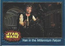 1999 Topps Star Wars Chrome Archives #23 Han In The Millennium Falcon > Solo