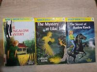 Nancy Drew Flashlight Mystery Series Lot Of 3 Books 3,4,5  Hardcover Keene