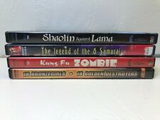 Black Belt Theater Movie Bundle / Kung Fu Zombie + More DVDs (Japanese Movies)