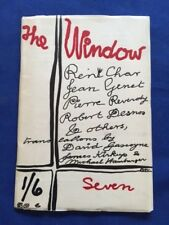 THE WINDOW. SEVEN - FIRST EDITION LITERARY JOURNAL