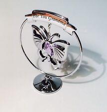 Grandma Butterfly Christmas Gift Ideas for Grandparents Swarovski Elements SP259