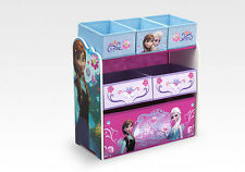 Disney Frozen Kids Toy Storage Organizer Unit Girls Childrens Bedroom Multi Bin