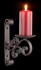 Mittelalterlicher Kerzenhalter für die Wand - Fantasy Kerzenleuchter Wanddeko