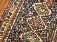 Antique Caucasian Shirvan Karagashli Rug Size 5'2''x8'2''