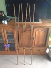 Set of 3 Wooden Camera Tripod Legs,used condition