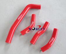 Silicone Radiator Hose For Honda CRF250 CRF 250 CRF250R 2010-2013 11 12 13 RED