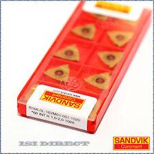 R166.0L 16VM01-001 1020  SANDVIK ** 10 INSERTS ** FACTORY PACK ***
