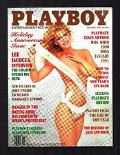 Playboy 1/91 Stacy Arthur, Helmut Newton