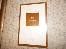 1985.Les fabliaux.Moyen age.Dominique Boutet  (envoi)