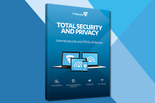 F Secure Total Internet Security & Privacy VPN 1 Year, 5 Devices Multilingual