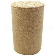 "12"" Natural Burlap Roll - 50 Yards - Industrial Grade - Jute Burlap Fabric"