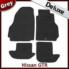 Adatto per NISSAN GTR 2009 2010 2011 LUSSO SU MISURA tappetini per AUTO 1300g Grigio