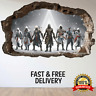 Assassin's Creed Bedroom Mural Gamers Wall Art Gaming Sticker eSports Animex