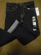 BABY GAP NWT Boy 4 years Straight Fit denim blue jeans adjustable waist pockets