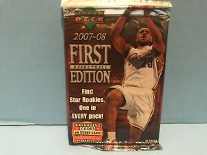 2007-08 UPPER DECK FIRST EDITION BASKETBALL FACTORY SEALED PACK DURANT ROOKIE?