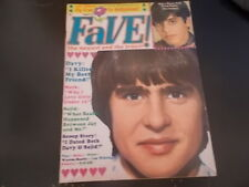 The Monkees, The Cowsills, Dack Rambo - Fave Magazine 1968