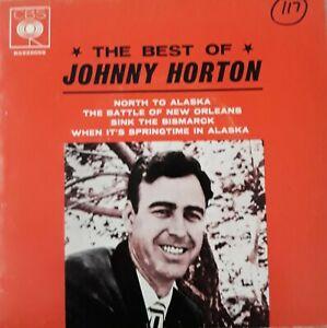 "JOHNNY HORTON       ""THE BEST OF JOHNNY HORTON""     CBS  (BG 225059)    EP"