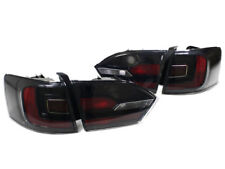 Black/Red Euro Taillights w/ Rear Fogs for 11-14 Jetta MK6