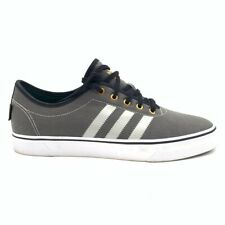 Adidas Mens Adi Ease Skate Shoes Gray White Lace Up Low Top LHV 029005 13 New