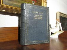 WALTER CRANE Buch-Illustration 1901 JUGENDSTIL Arts & Crafts LEDER HANDEINBAND