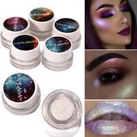 Glitter Shiny Shimmer Mermaid Eyeshadow Lip Palette Powder Pigment Eye Shadow