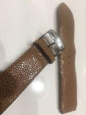 Philip Stein Genuine Sting Ray Watch Band 21mm Camel Beige