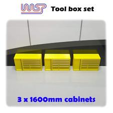 Circuit Routier Électrique Garage Pit Paysage 1600mm - Outil Poitrine X 3 Jaune