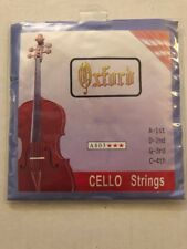 Set Of Cello Strings Oxford A803 4/4 New