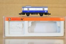 Arnold 3061 N Scale Dr Blue White Packwagen Baggage Coach Tolz Boxed NP