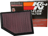 K&N 33-3055 High Flow Air Filter fits VOLVO V40 II & Cross Country 1.5 2.0 2015-