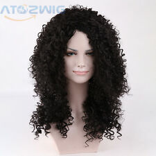Sexy Fashion New Long Black Curly Wavy Natural Wig Black Wigs for Black Women
