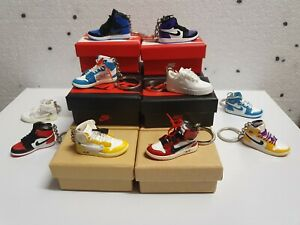 Nike Air Jordans 3D Keyring / Keychain Perfect Gift Stocking Filler Air Force 1