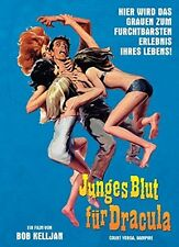 Mediabook JUNGES BLUT FÜR DRACULA Count Yorga Vampire BLU-RAY + DVD Lmited Box A