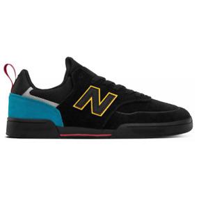 New Balance Numeric 288 Black Yellow Mens Skateboard Shoes