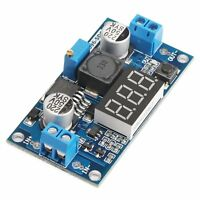 LM2596 DC 4.0-40 to 1.3-37V Adjustable Step-Down Buck Power Module + Voltmeter