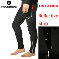 ROCKBROS Men's Riding Long Pants Breathable Reflective Casual Cycling Trousers