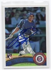 BEN REVERE Signed Autographed 2011 Topps Baseball Card Auto RC MIN Twins #99 COA
