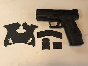 HANDLEITGRIPS Textured Rubber Grip  Wrap Gun Part for Springfield XDM Compact