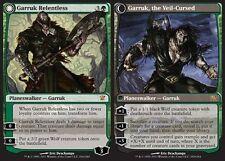 Garruk Spietato - Relentless / the Veil-Cursed MTG MAGIC ISD Innistrad Eng/Ita