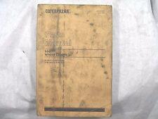 CAT Caterpillar 950 PARTS MANUAL BOOK 81J5411-7845 UEGO690S