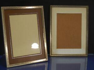Bilderrahmen Barock Foto Silber zum Aufstellen H:28cm
